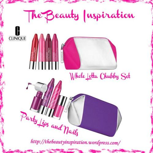 Whole Lotta Chubby Set & Party Lips & Nails Clinique